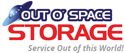 Out O' Space Storage Logo